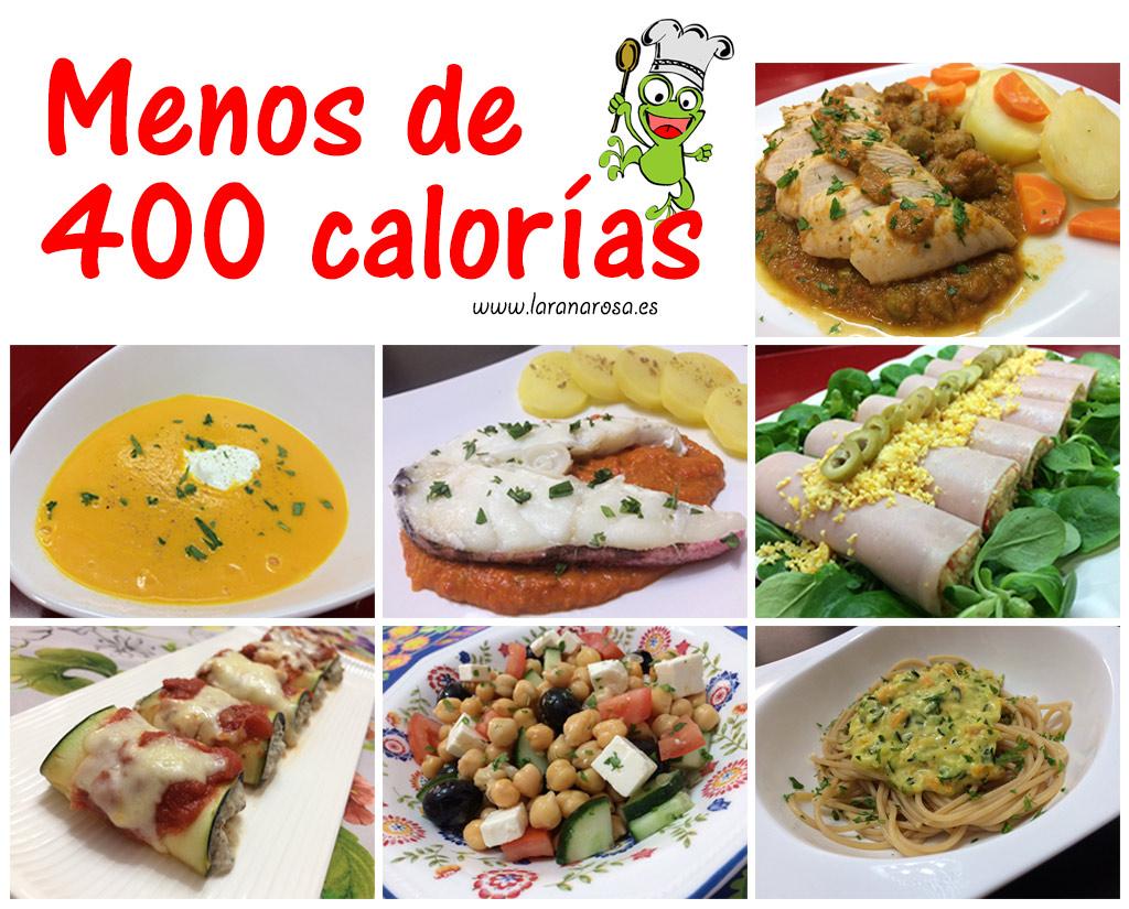 Pincha en la imagen para ver las recetas de dietas de la rana Rosa