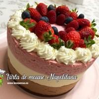 Tarta de mousse Napolitana