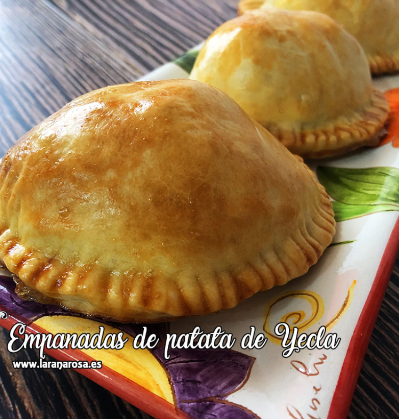 Empanadas de patata de Yecla