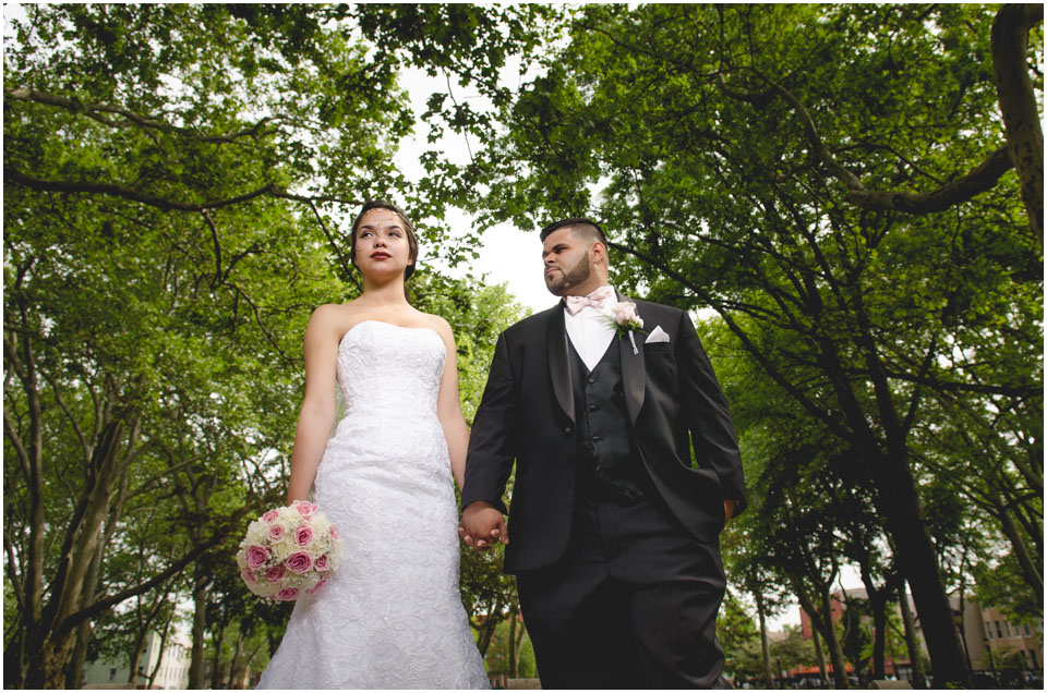 Wedding Photography in McGolrick Park by Lara Photography Studio