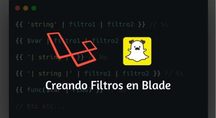 Creando Filtros en Blade (1)