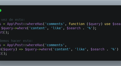 Short Closure en PHP 7.4