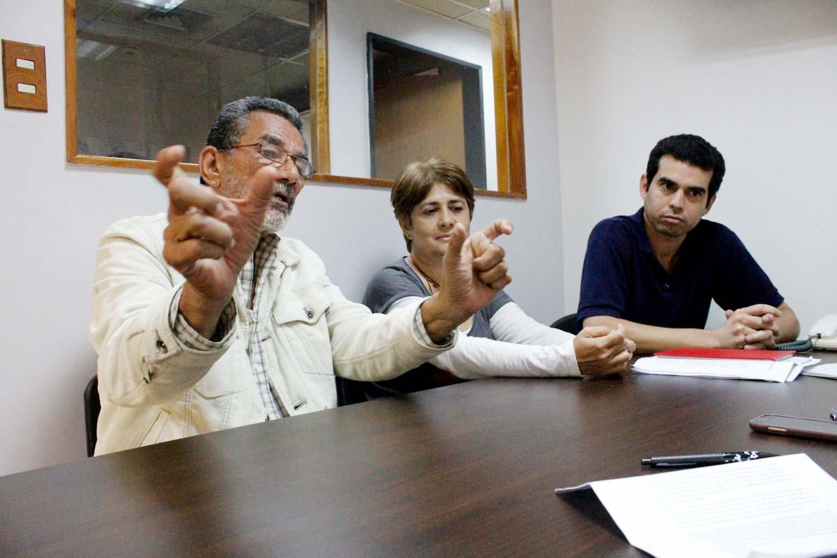 No polarizados: Manuel Isidro Molina, Olly Millán y Gustavo Martínez