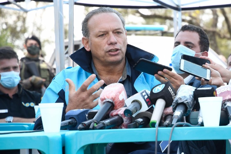 "Caso Maia: Berni cruzó a Frederic y la calificó de ""hipócrita"" e ""inoperante"" - La Razon de Chivilcoy"