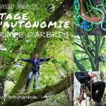 Stage d'autonomie Grimpe d'Arbres 16-17/09/2017 – Finistère (29)