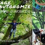 Stage d'autonomie Grimpe d'Arbres 25 et 26 mai 2019 – Trémargat (22)