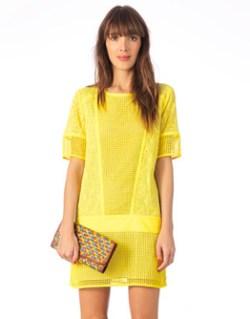 robe bash jaune monshowroom