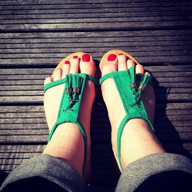 sandales-h-et-M-vertes