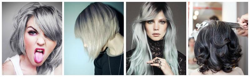 se faire les cheveux gris