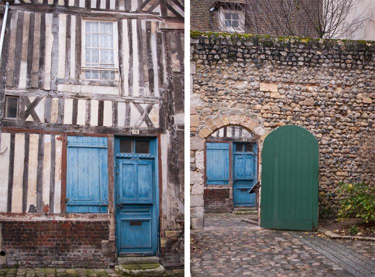 honfleur-portes-verte-bleue