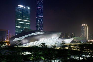 Guangzhou Opera House en China / Iwan Baan