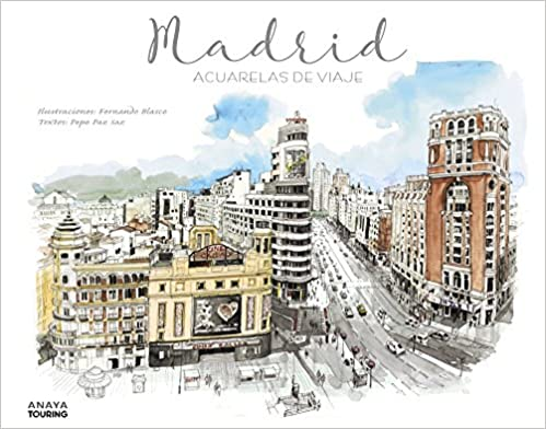 Libro Madrid Acuarelas de Viaje