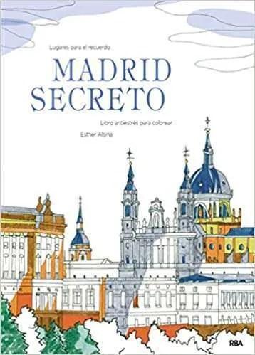 Libro para colorear Madrid Secreto