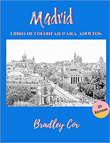 Madrid para colorear
