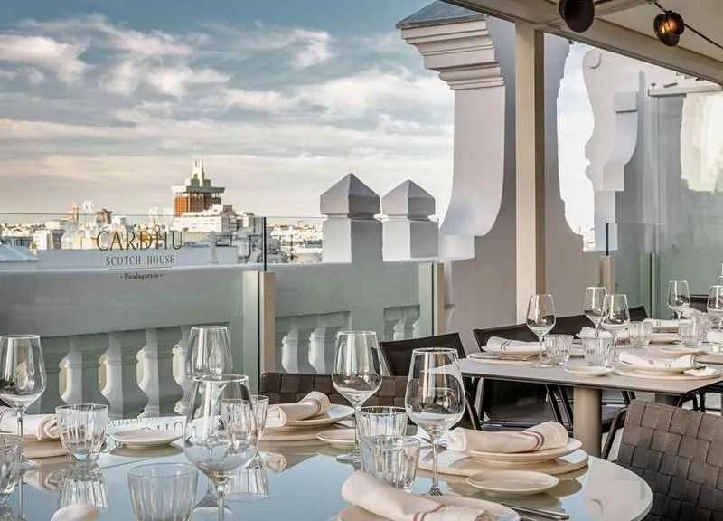 Restaurante de la terraza