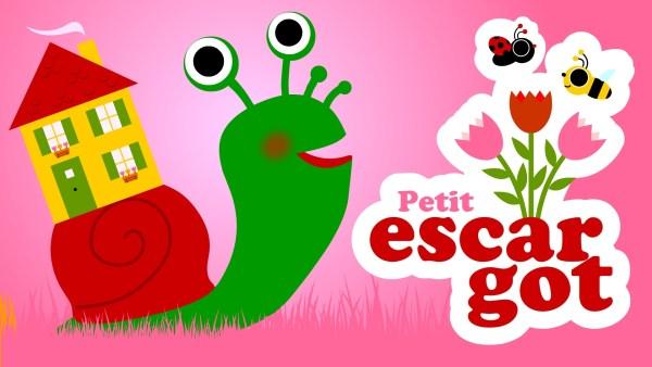 Petit escargot comptine pour bébés et maternelles à regarder, écouter et chanter dans les crèches et écoles maternelle avec votre enfant