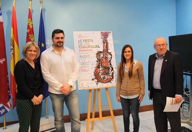 Presentación de las XXXV Fiestas de las Cuadrillas de Barranda