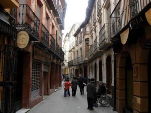 Calle Mayor de Caravaca de la Cruz