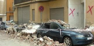 La mayoría de las victimas en el terremoto de Lorca del 11 de Mayo de 2011 fueron causdas por los desprendimientos de las cornisas de los edificios