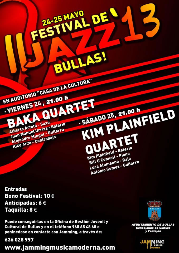 Festival de Jazz 2013 Bullas