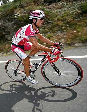 ::FOTO DE ARCHIVO:: Ciclista