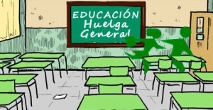 9 de mayo Huelga General Educativa