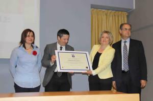 Entrega Premio Oficina Turismo Caravaca