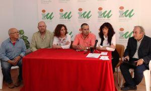 Jesús Molina, de Moratalla; María José Rodríguez, de Cehegin: Manuel Arenas, de Bullas; Ricardo García, de Calasparra, y Juan Berbell, de Caravaca