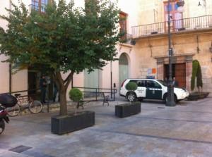 Guardia Civil registra las dependencias del Ayuntamiento de Caravaca