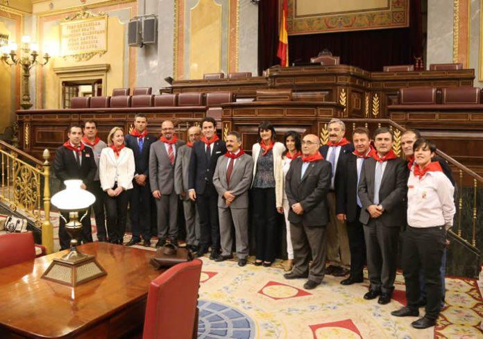 La Delegación Caravaqueña en el Congreso Con los Diputados