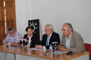 El Alcalde junto a el Rector de la Universidad de Murcia