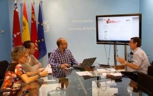 Reunion Info Servicio Encuentra tu Sitio en Caravaca