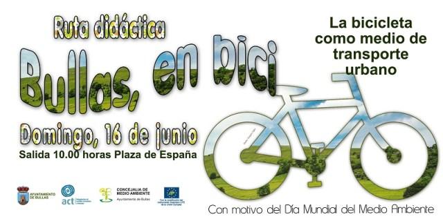 Cartel Día de la Bici Bullas