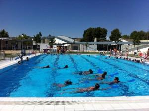 Clases de natación piscina municipal de Caravaca