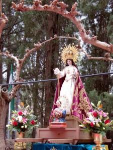 Imagen de la Virgen de la Esperanza