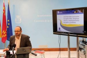 Concejal de Desarrollo Urbano y Servicios, Salvador Gómez