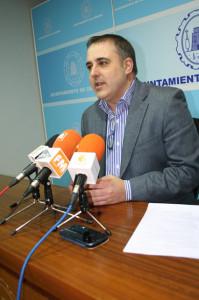Concejal de Energia Francisco Abril