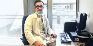 Antonio Santa Cruz, jefe del Servicio de Neumología del Hospital Universitario Santa Lucía de Cartagena, ha experimentado en directo cómo se vence a la pandemia.