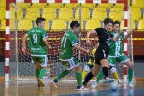 Imágenes del partido disputado entre el Cidade y el Móstoles