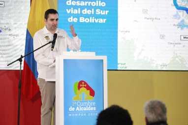 """""""Bolívar será primero en desarrollo económico y social"""", Gobernador Blel"""