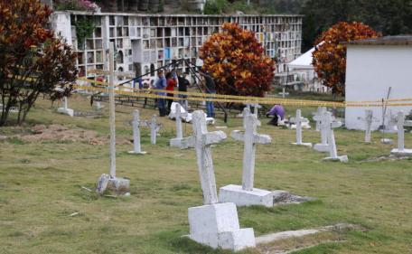 LA JEP avanza en proceso de exhumación en cementerio las Mercedes de Dabeiba