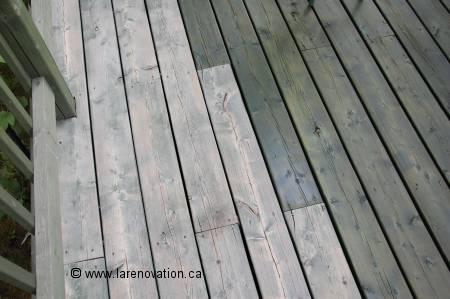 Construire un patio en bois