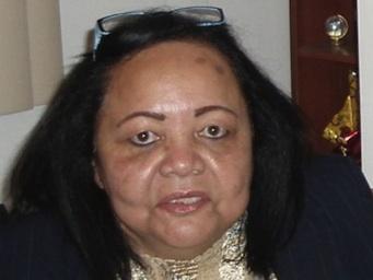 Olga Fonseca, embajadora asesinada.