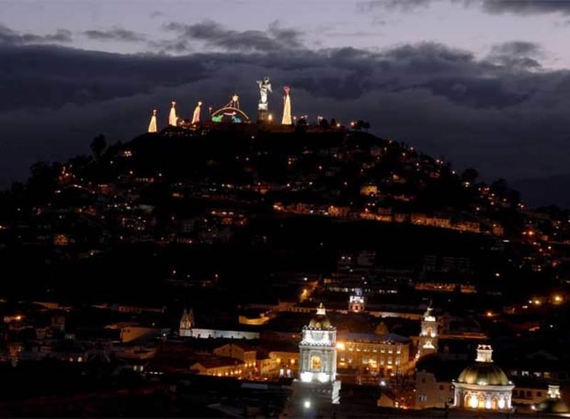 Quito un inmenso pesebre viviente en Navidad  La