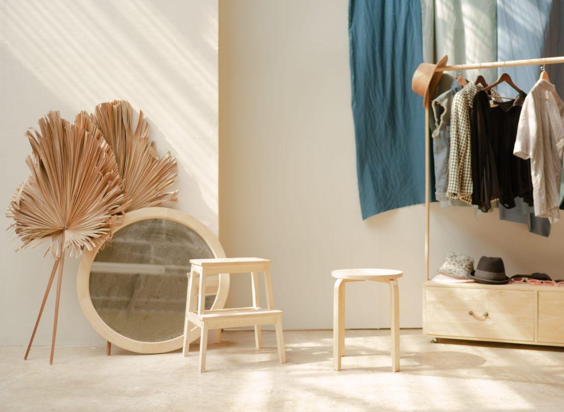 Errores al crear un armario minimalista