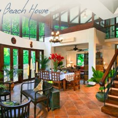 Second Hand Living Room Furniture White Table La Reserva Manuel Antonio - Discovery Beach House Luxury ...