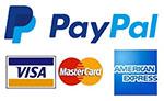PayPal - Visa, Master Card, American Express