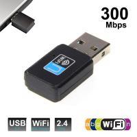 Adaptador wifi USB para PC portátil u otros dispositivos compatibles