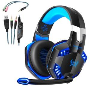 Cascos para Gamers Auriculares Gaming con Micrófono Headset Mac