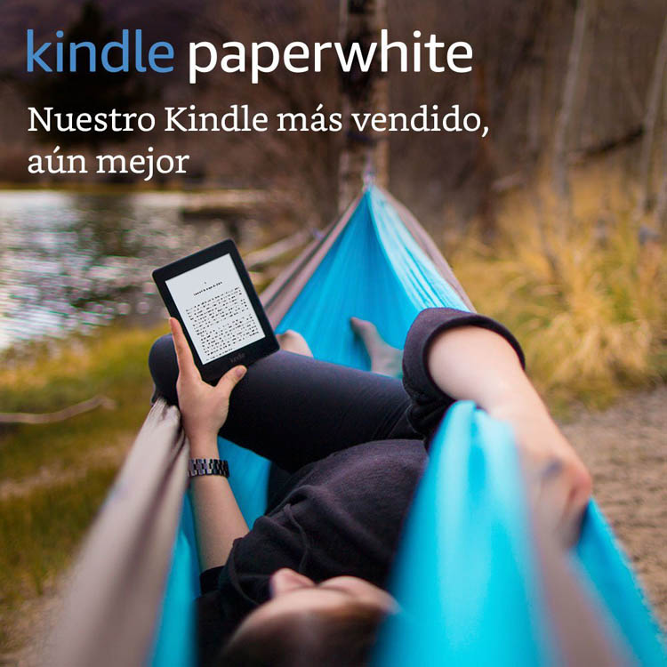 E-reader Kindle Paperwhite pantalla de 15 cm de alta resolución